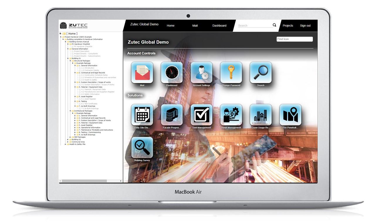 Digital O&M Manuals - Desktop view 1