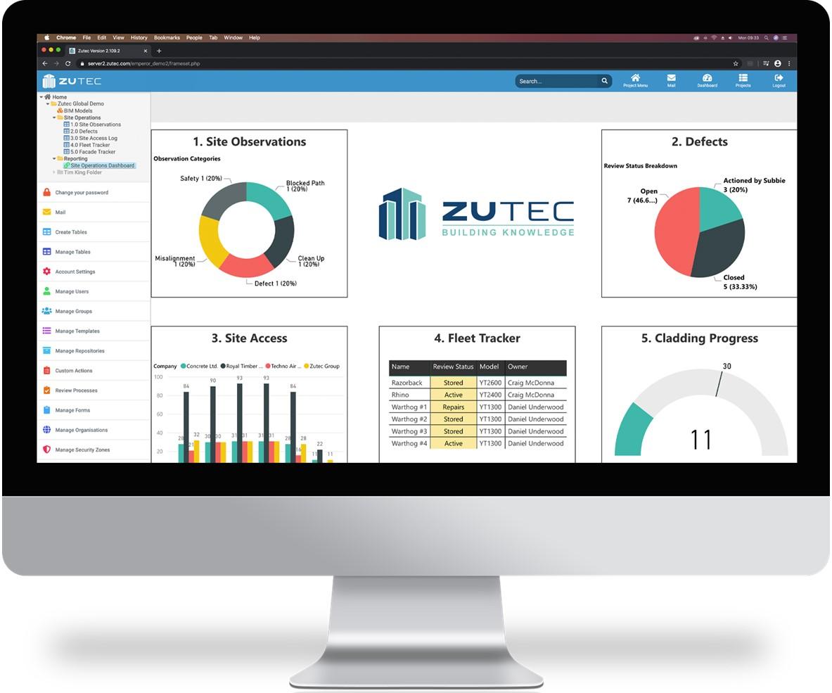 Zutec Cloud - Total Management Platform for Handover Information
